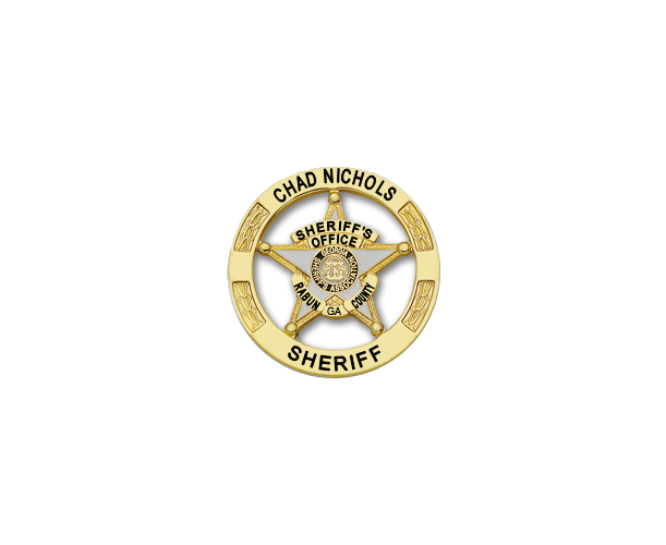 Rabun County Sheriff's Badge Star